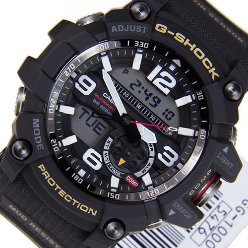 relógio casio g-shock mudmaster gg-1000-1adr garantia 1 anos