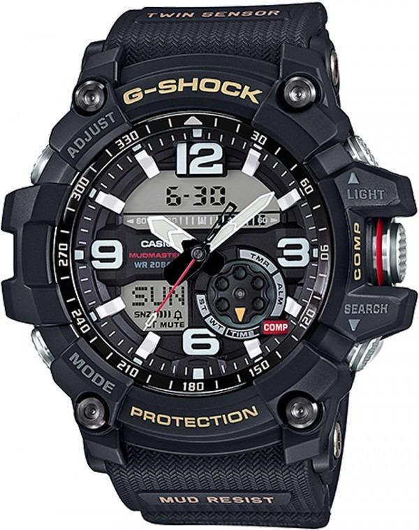 6199a3894b1 Relógio Casio G-shock Mudmaster Gg-1000-1adr Preto Gg1000 - R  1.052 ...