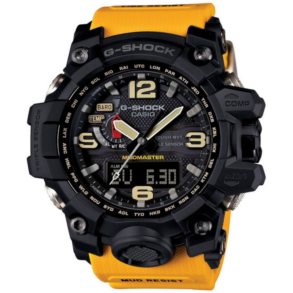 425b49a6751 relógio casio g-shock mudmaster gwg-1000 - 100% original. Carregando zoom.
