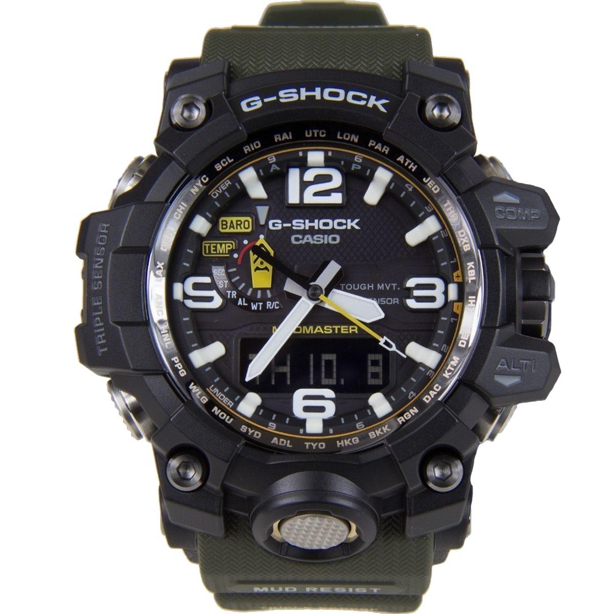 8e8c7b6ac05 relógio casio g-shock mudmaster masculino gwg-1000-1a3dr. Carregando zoom.