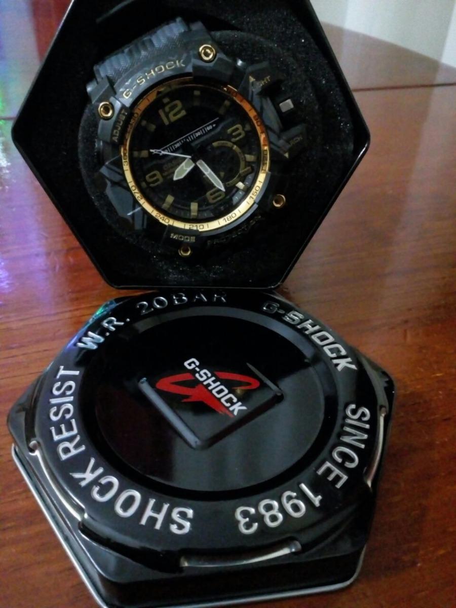 16fc8186ea5 relógio casio g-shock mudmaster na caixa promoção. Carregando zoom.