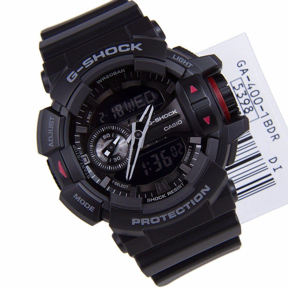 3a2753f7b64 relógio casio g-shock original preto multifunções ga4001b. Carregando zoom.