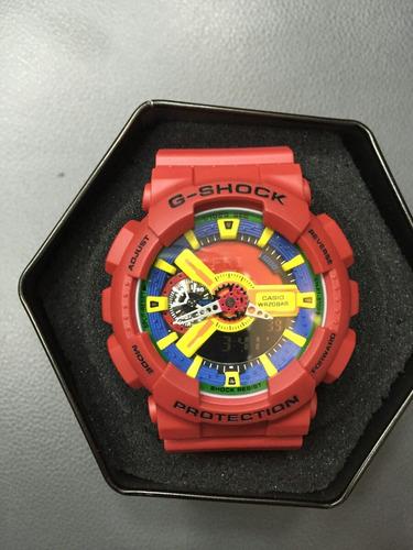 relógio casio g-shock ponteiro e digital+caixa+garantia