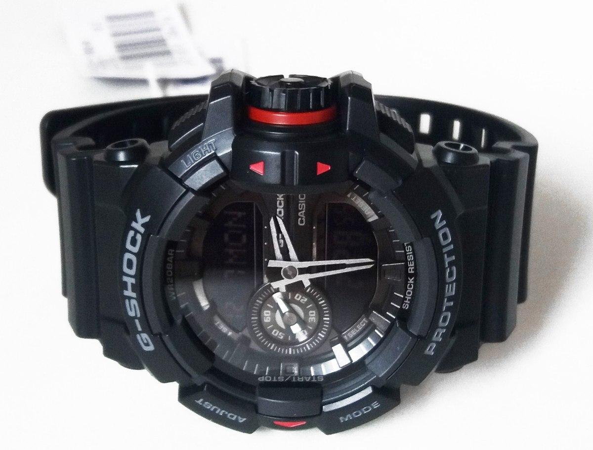 51fc6904eb7 relógio casio g-shock pulseira em resina preto origina + nfe. Carregando  zoom.