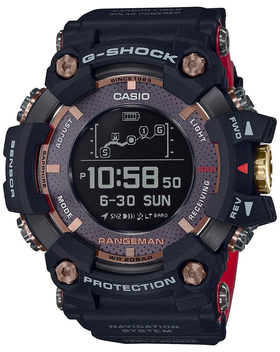 ebe52133867 relógio casio g-shock rangeman gps 35th anniversary. Carregando zoom.