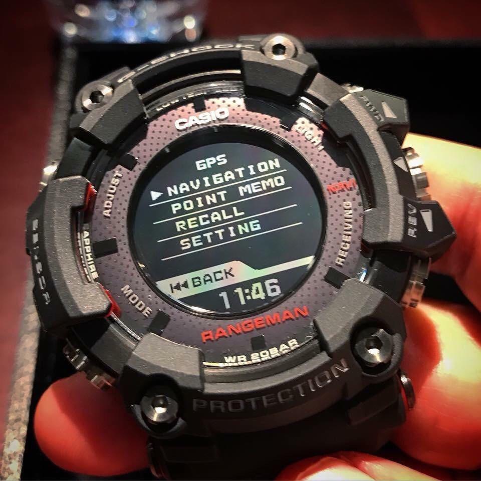 8c5abd30e96 Source · Rel gio Casio G shock Rangeman Solarassisted Gpr b1000 1jr R