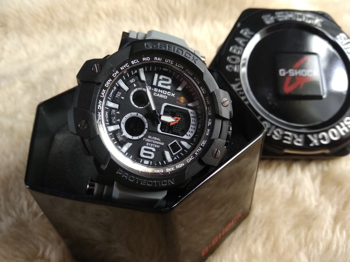 acf85c8419a Relógio Casio G-shock Redbull 2018 Novos Modelos Veja - R  69