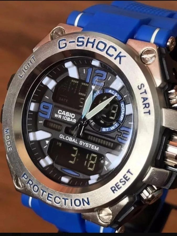 9ec0ff69053 relógio casio g shock steel aço resist água promoção. Carregando zoom.