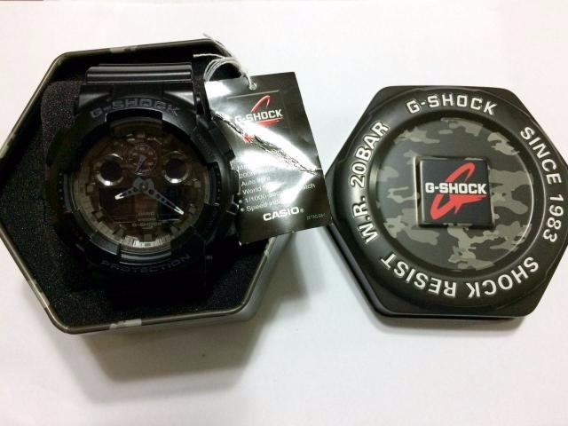 1c1c02e5580 relógio casio g-shock wr 20bar - novo - masculino - original