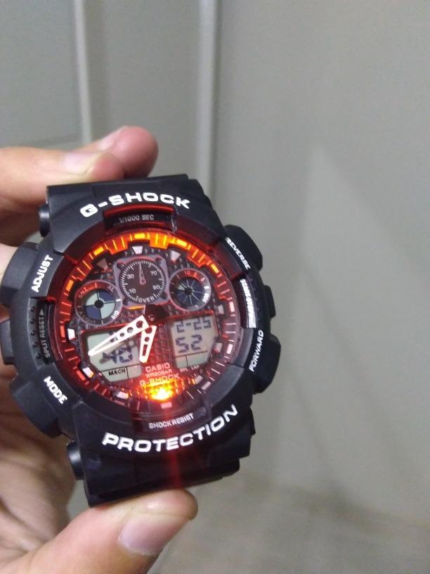 0f029a34c7a relogio casio g-shock wr20bar. Carregando zoom.
