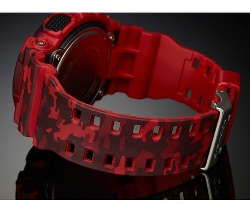 relógio casio ga-100cm-4adr g-shock camuflado - refinado