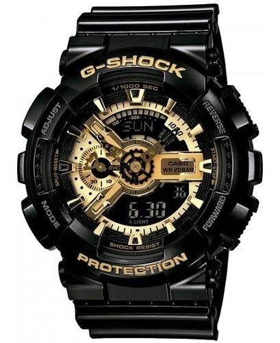 relógio casio ga-110gb-1adr g-shock militar sport - refinado