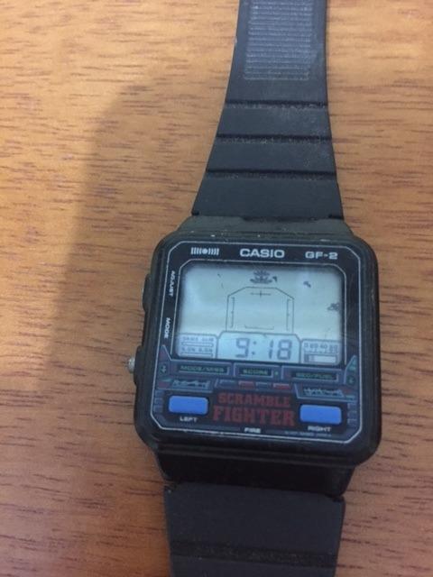 700b6f650 Relógio Casio Game Gf-2 - Anos 80 - Raro - Antigo - R  1.000
