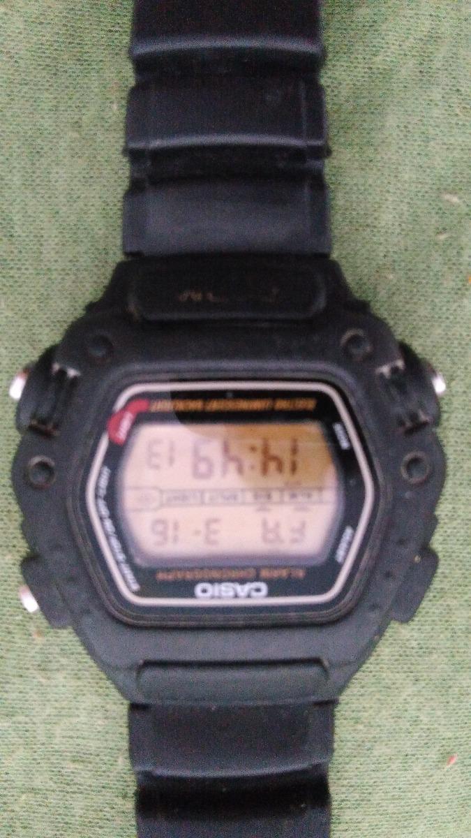 396538a600d relogio casio illuminator 200mts original antigo. Carregando zoom.