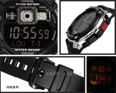96c3acb4ef3 Relógio Casio Illuminator Ae2000w-1b World Time 5 Alarmes - R  189 ...