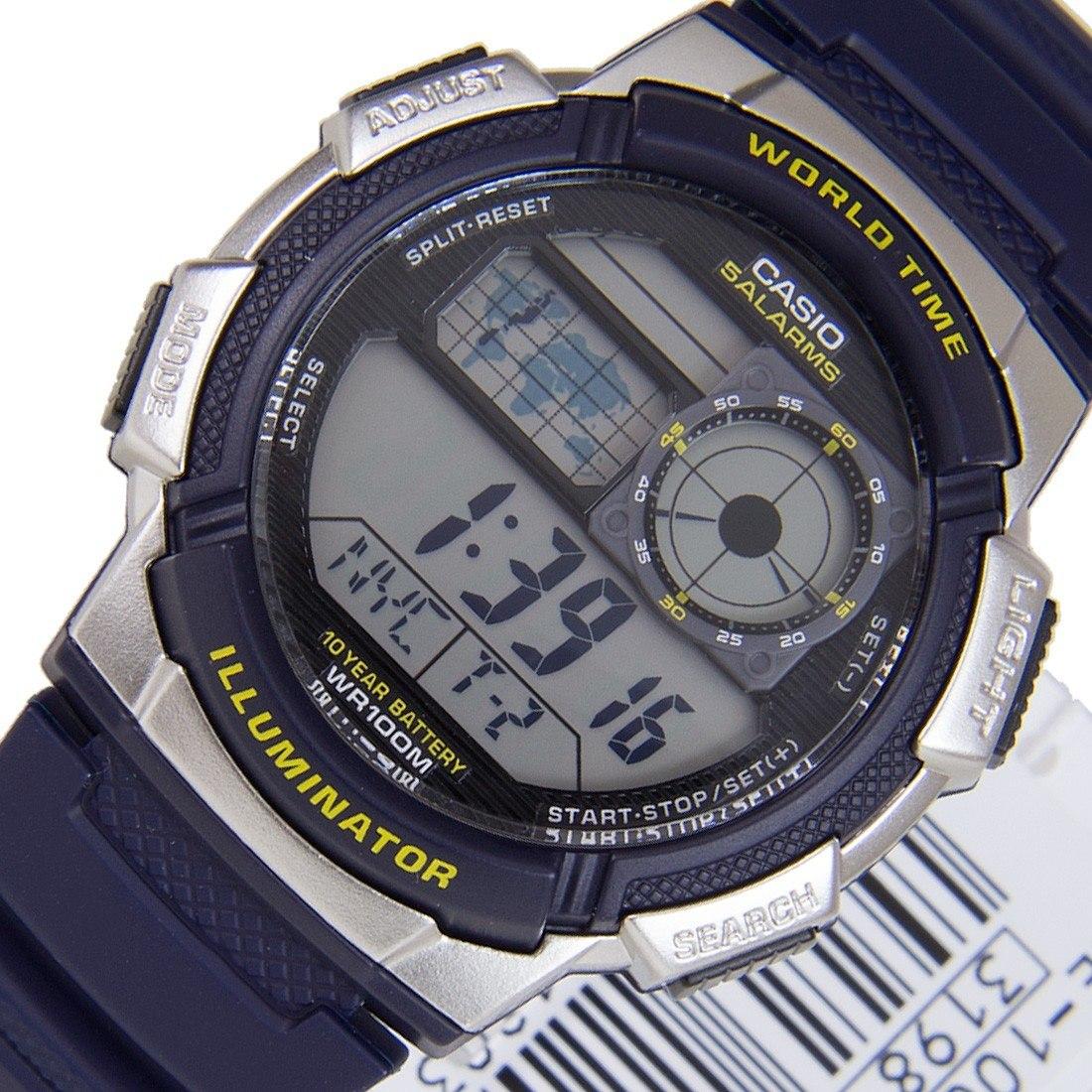 c159eadfd7b relogio casio illuminator horario mundial bateria de 10 anos. Carregando  zoom.