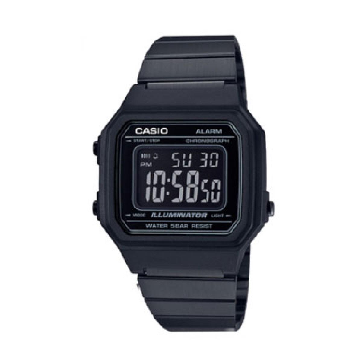 02bf50e6bf2f relógio casio - illuminator - preto - b650wb-1bdf. Carregando zoom.