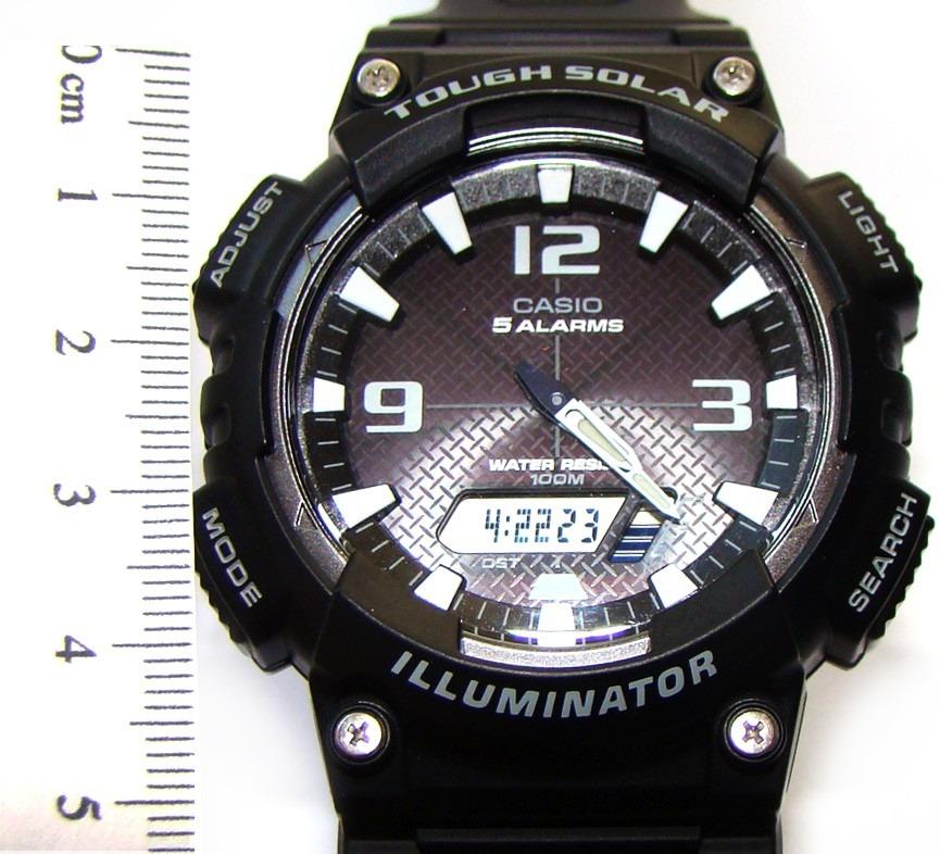 c26fcae4fb8 Relógio Casio Illuminator Tough Solar Aq-s810w - Masc - R  315