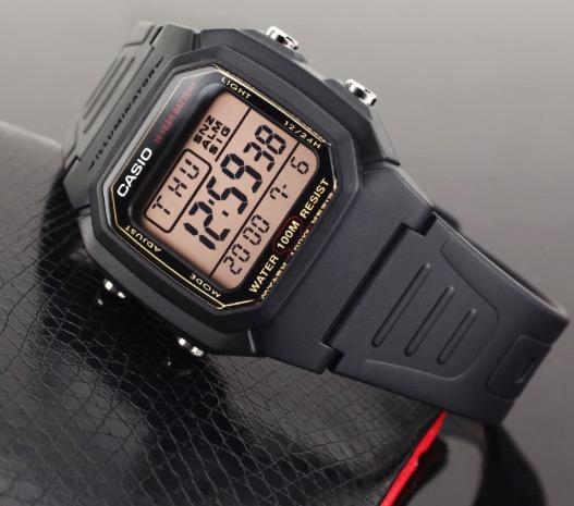 f72badfca55 Relogio Casio Illuminator W-800hg-9 Original W800 - R  148