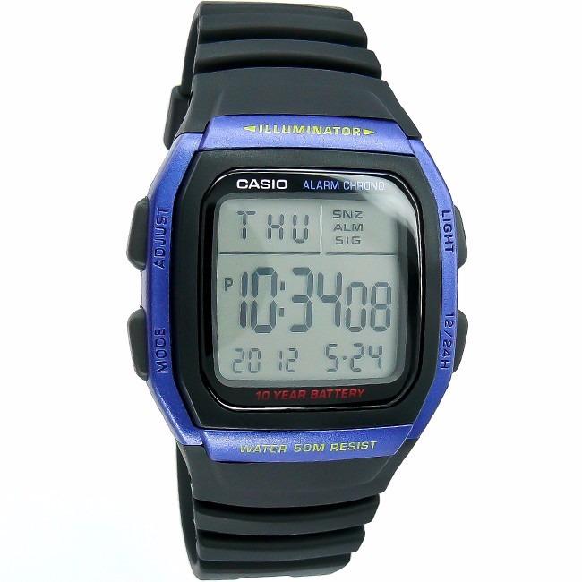7c51ae758b4 Relógio Casio Illuminator W96h 10 Anos De Bateria