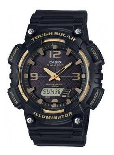 relógio casio iluminator tough solar aq-s810w-1a3vdf original