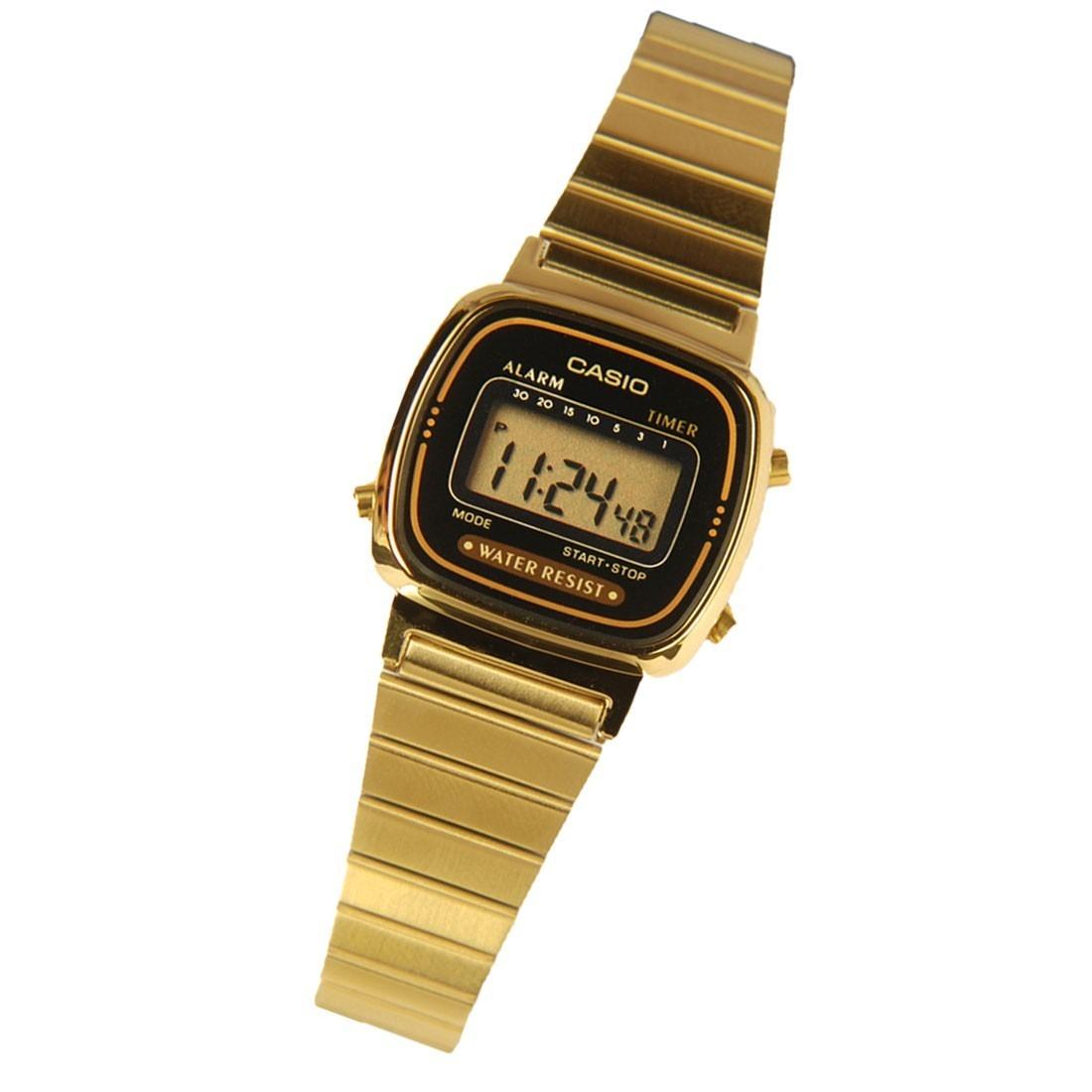 0840955d10b Relogio Casio La 670wga 1 9 Fem Retr Vintage Dourado Alarm R 173 Mens  Digital Watch