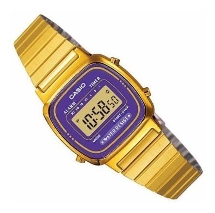 relogio casio la670 wga-6df cronometro alarme vintage wr r