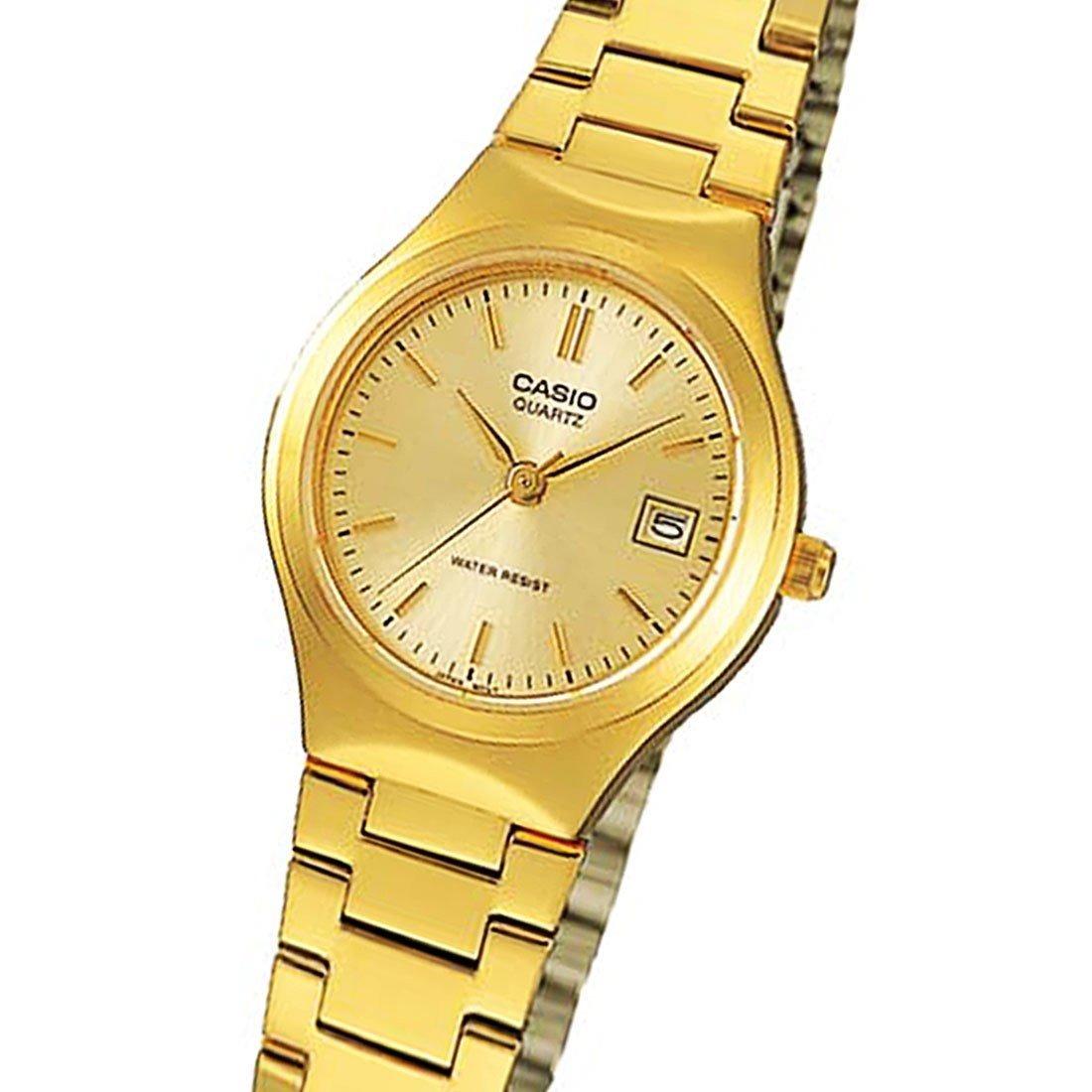 1fc3c05b752 relogio casio ltp 1170n-9a feminino dourado data wr clássico. Carregando  zoom.