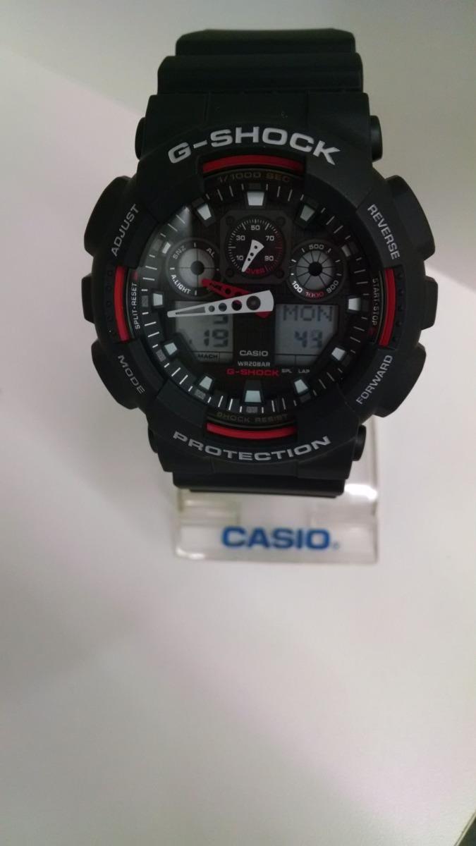 8530add9b7d Relógio Casio Masc G-shock Ga100-1a4dr Original E Barato - R  689