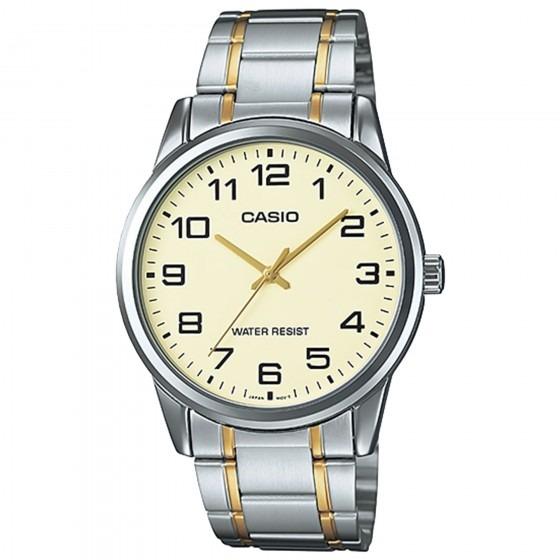 921216911bb Relógio Casio Mtp-v001sg-9budf Padrão Masc Prata - Refinado - R  207 ...
