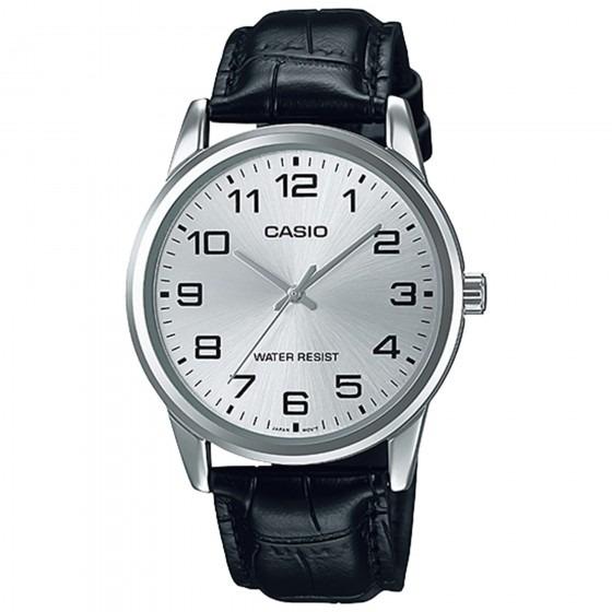 f476b647332 Relógio Casio Mtp-v001l-7budf Padrão Masc Prata - Refinado - R  155 ...