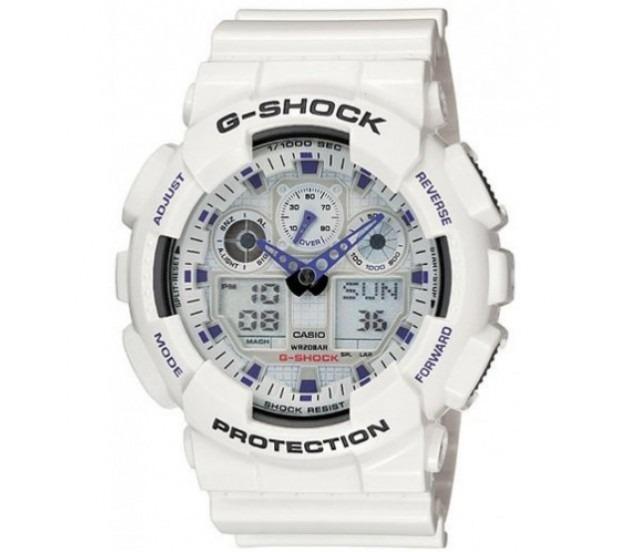 9c2d852990a Relógio Casio Masc G-shock Ga-100 7adr Original E Barato - R  689