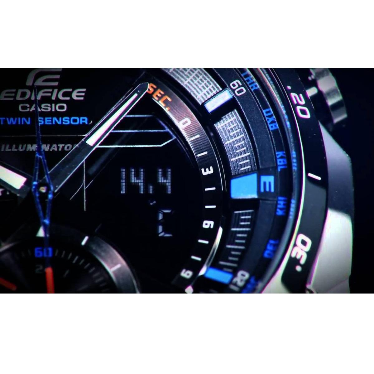 e55adffb28ed relógio casio edifice twin sensor cronógrafo anadigi masculi. Carregando  zoom... relógio casio masculi. Carregando zoom.
