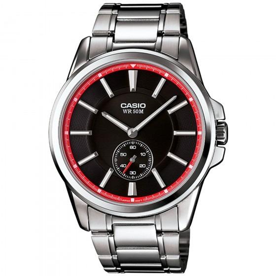 c9f417e9f78 Relógio Casio Mtp-e101d-1a2vdf Prata Masculino - Refinado - R  377 ...