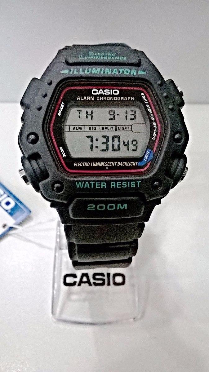 4c79bea3303 Relógio Casio Masculino Preto Dw-290-1vs Original Novo - R  259