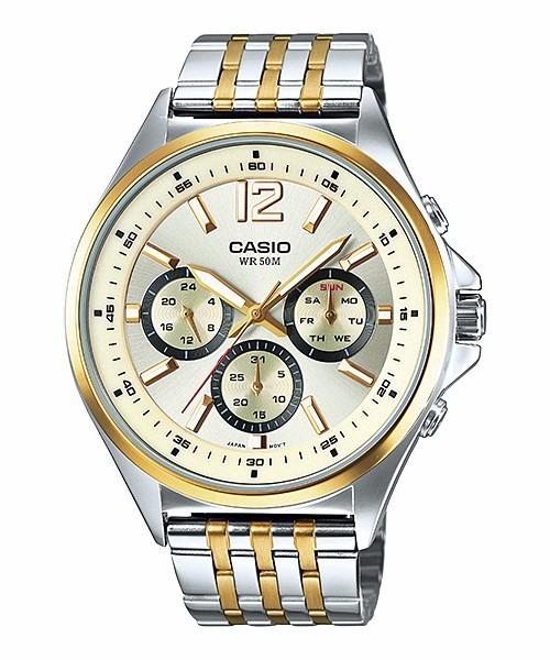 1345d97639e Relógio Casio Masculino Social Mtp-e303sg Analogico - R  385