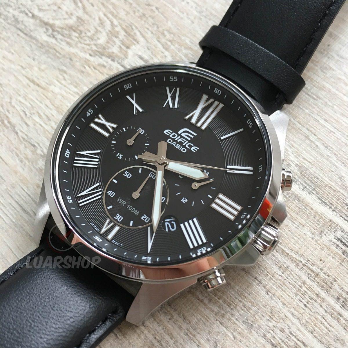 e8c163de217 Relogio Casio Edifice Masculino Cronografo Efv-500 Original - R  449 ...