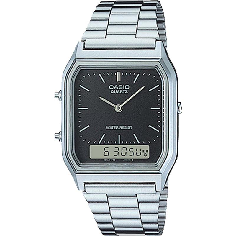 c616c778a37 Relógio Casio Vintage Masculino Aq-230a-1dmq - R  248