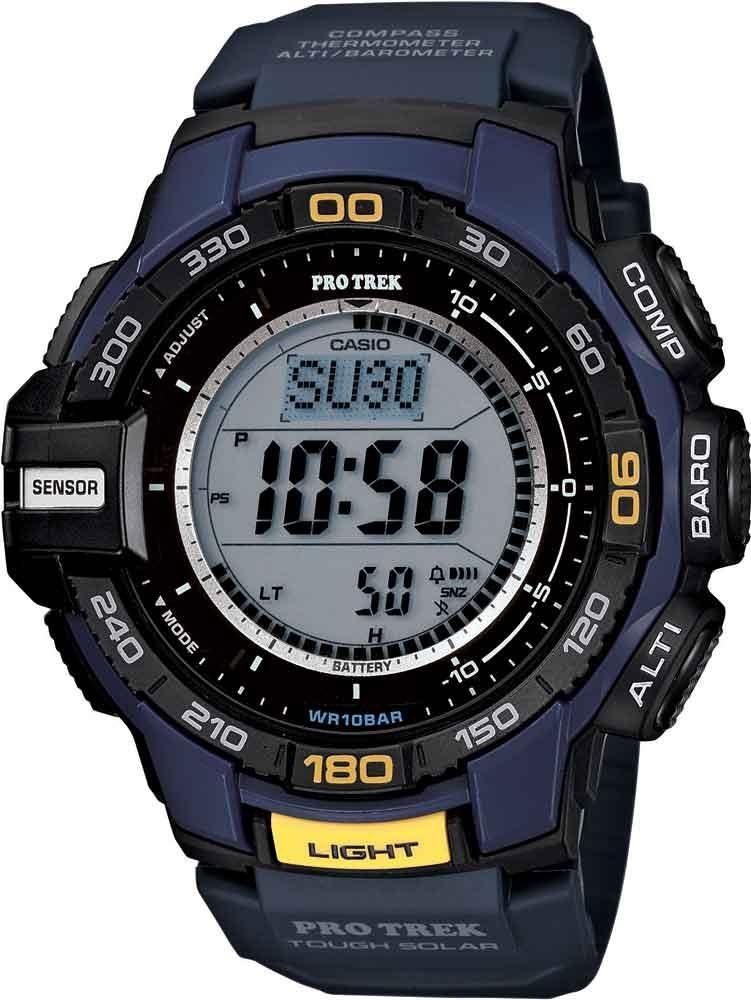 d39ba7cd7fc Relógio Casio Masculino Protrek Prg-270-2dr  bússola-altímet - R ...
