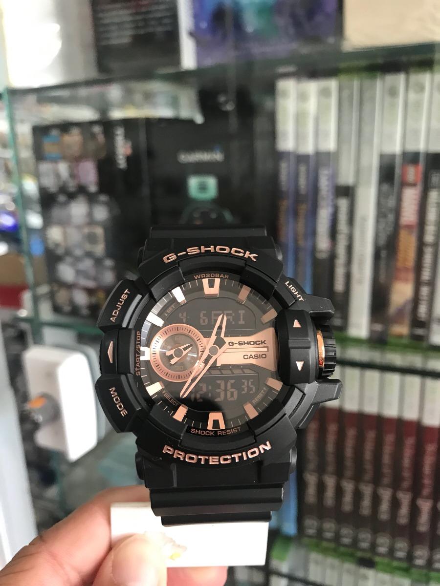 986f2b64f Relógio Casio Masculino G-shock Ga-400gb Nota Fiscal - R  499