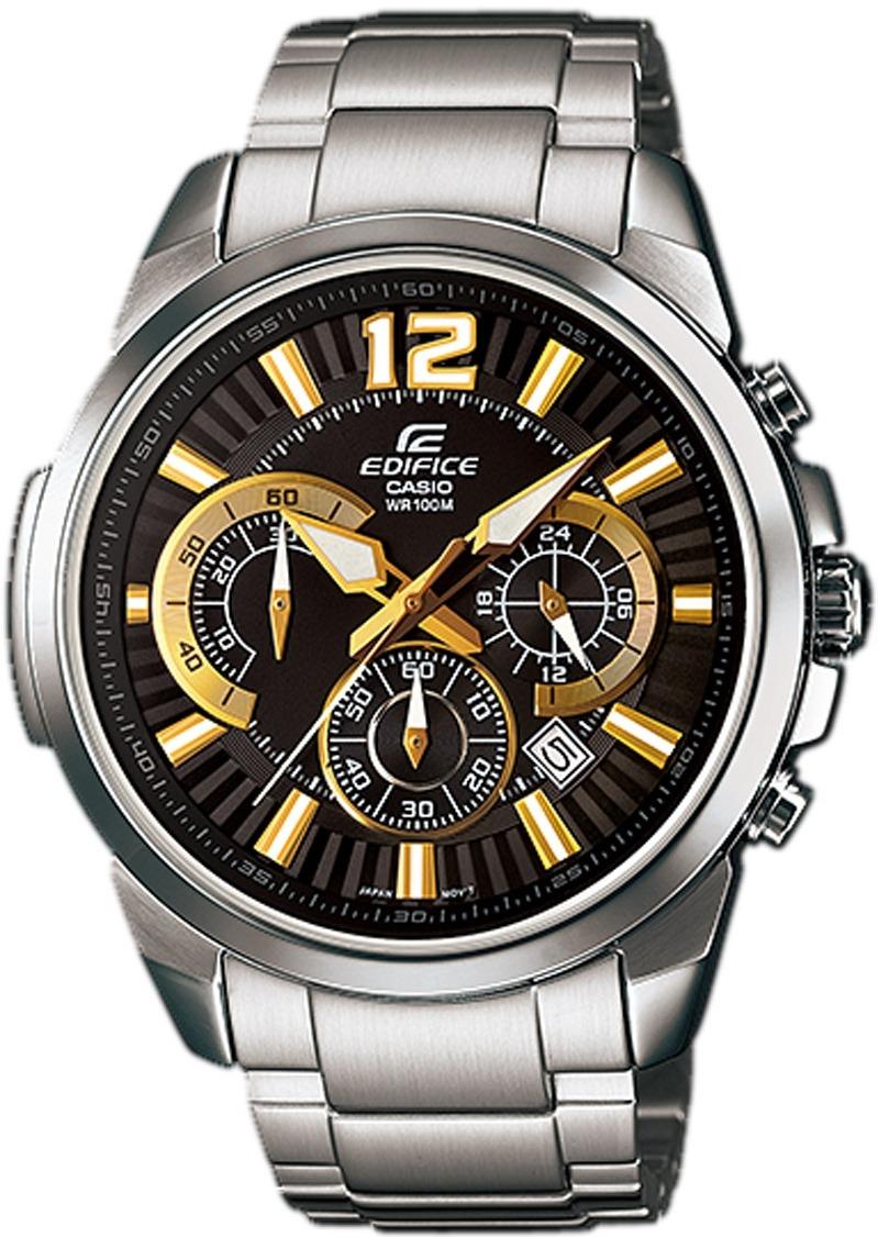414574a856f Relógio Casio Edifice Cronografo Masculino Efr-535d-1a9 - R  559