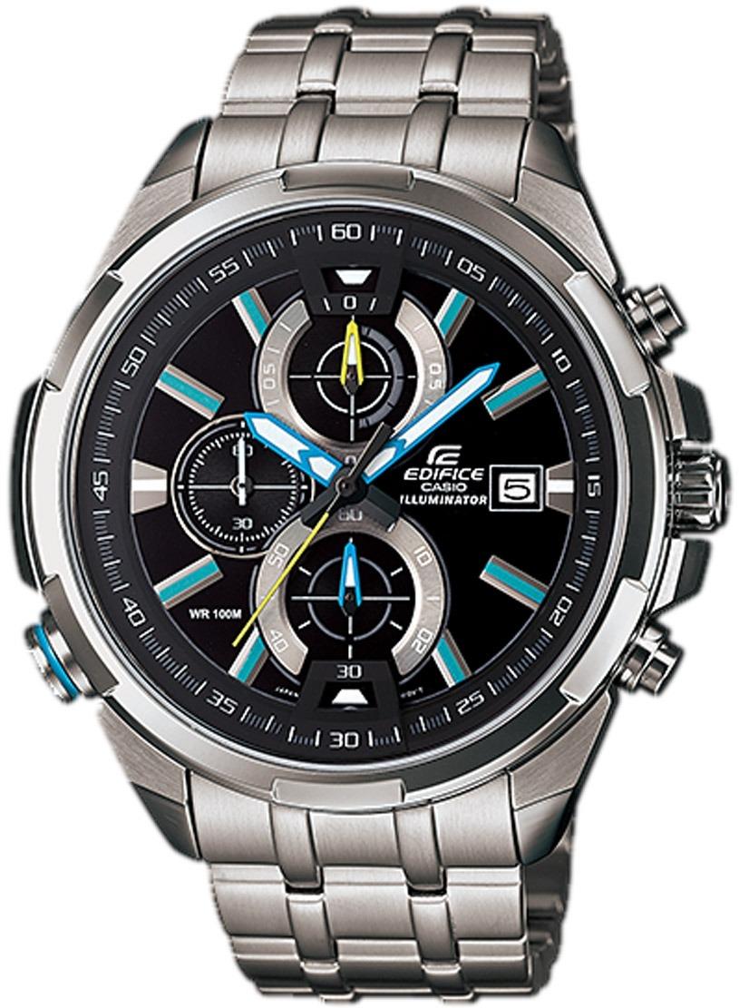 0d7854c9026 Relógio Casio Edifice Iluminator Masculino Efr-536zd-1a2 - R  829