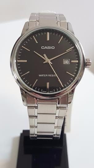27aa0d43ccf relógio casio masculino aço prata analógico mtp-v002d-1audf · relógio casio  masculino
