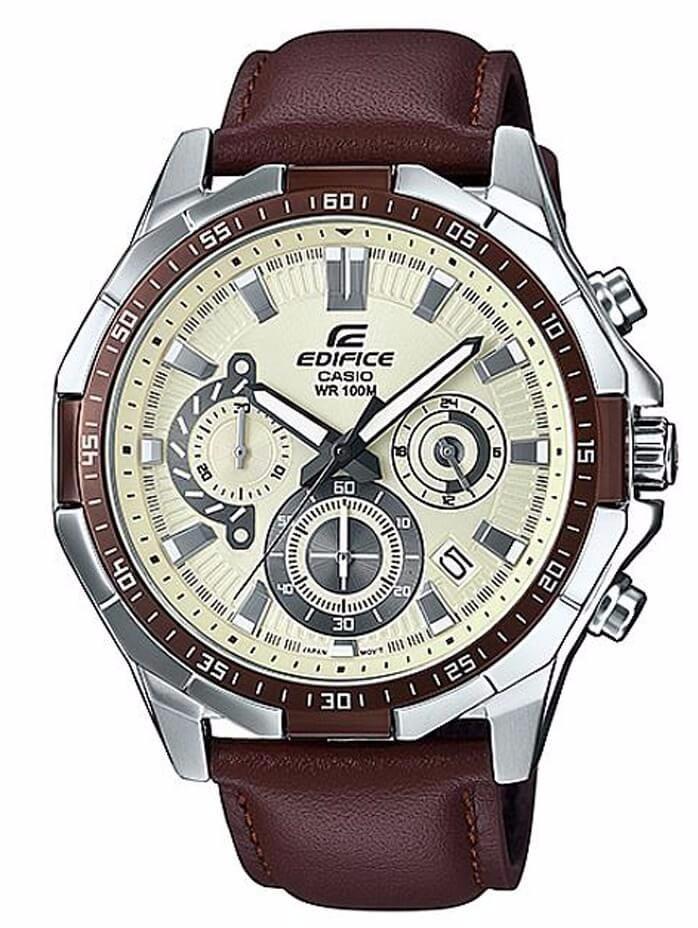 c06bbb0e973 Relógio Casio Edifice Masculino Efr-554l-7avudf - R  650