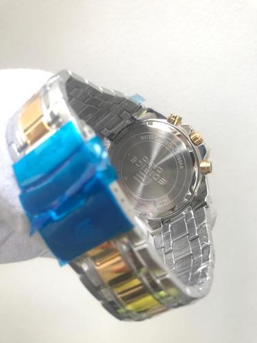 5e8506d5835 relógio casio masculino edifice ef-558d-1avudf. luxo top x ! Carregando zoom...  relógio casio masculino