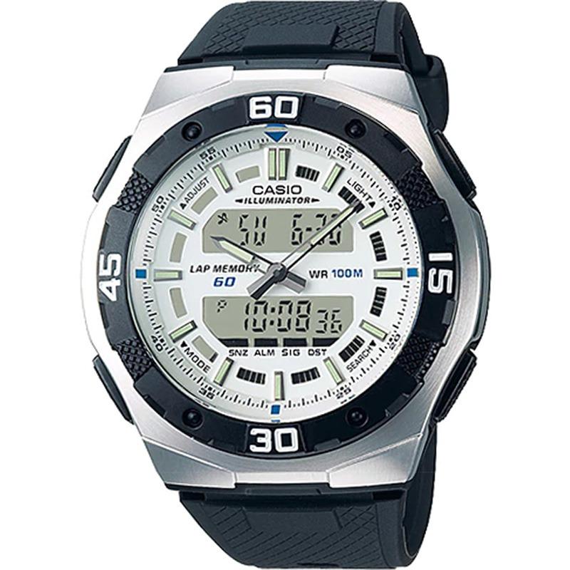 303594ab9bc Relógio Casio Lap Memory Masculino Aq-164w-7avdf - R  179