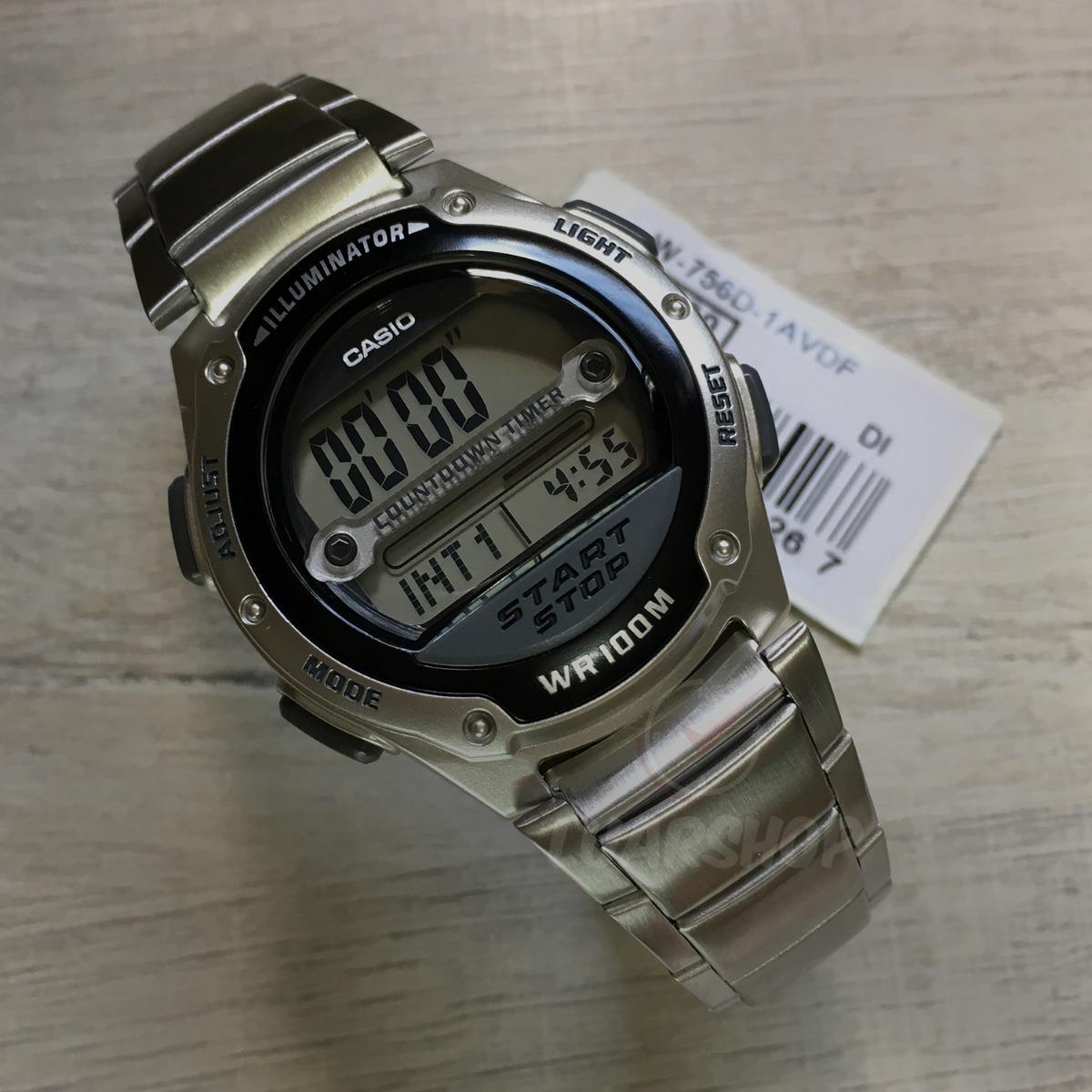 64bc261e51d Carregando zoom... casio masculino relógio. Carregando zoom... relógio  casio digital masculino w756d temporizador original