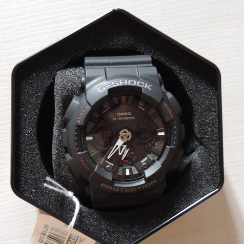 7b80e8f5f1f relógio casio g-shock ga-120-1ad masculino frete grátis. Carregando zoom... relógio  casio masculino