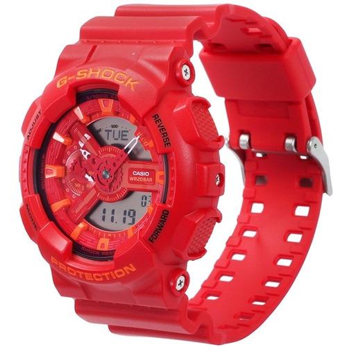 24c9aa741c8 Relógio Casio G-shock Anadigi Masculino Ga-110ac-4adr - R  749