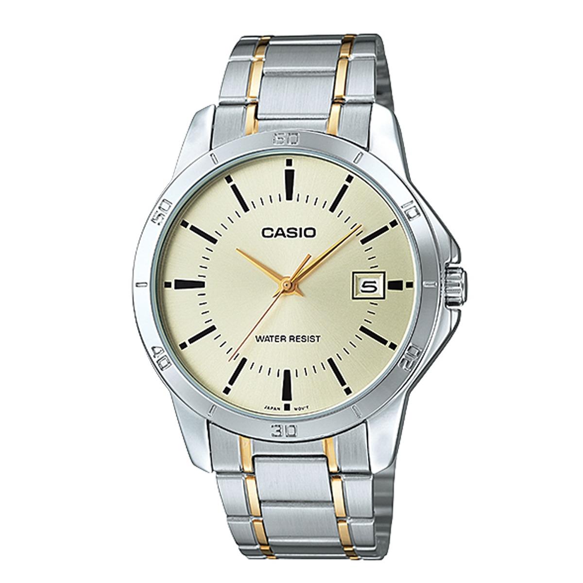 bb1941920d9 Relógio Casio Collection Analógico Masculino Mtp-v004sg-9aud - R ...